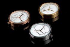 Minimal Elementary Design  //The original marble watches//  Please visit... www.facebook.com/MinimalElementaryDesign