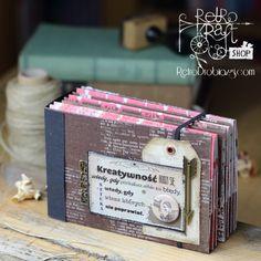 Retro Tutek: Album na stemple Mirelli / Retro Tutorial: Mirella's stamp storage album