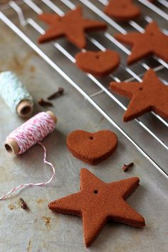 Homemade Cinnamon Ornaments | Completely Delicious
