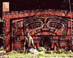 Art Price and Screen at Klukwan, 1997