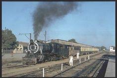 Steam Train at Mirpur Khas Railway Station, Pakistan Railways