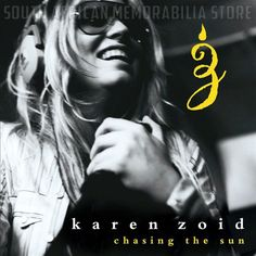 KAREN ZOID - Chasing The Sun - South African CD CDJUST171 *New*