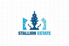 Stallion Estate - $299 (negotiable) http://www.stronglogos.com/product/stallion-estate #logo #design #sale #real #estate #construction #company