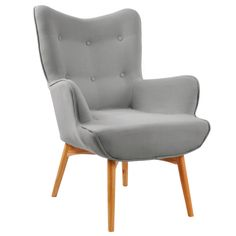Rigi Fabric Accent Chair and Stool