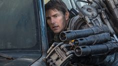 This summer's sci-fi action flick Edge of Tomorrow was pretty widely received as a legitimately good summer blockbuster, but for one reason or another it did pretty terribly at the box office. Edge Of Tomorrow, Jimmy Kimmel Live, Fantasy Films, What Goes On, Box Office, Tom Cruise, Cool Names, Warner Bros, Movie Tv