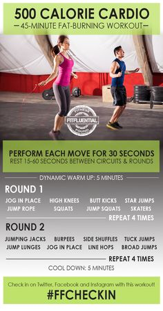 500 calorie cardio workout | Posted by: NewHowtoLoseBellyFat.com