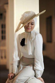 How to Wear Hijab with Hat  e547c3616c67ddab316580b41cb9ee3d