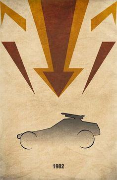 Movie Car Posters (56 pics) 33: MegaForce - Destroyer