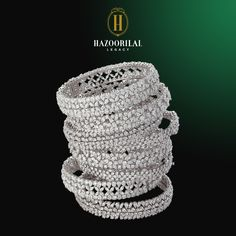 #LegacyOfDiamonds : Beauty that inspires… #HazoorilalLegacy #Hazoorilal #Jewelry #Bangles #Diamond #JewelryOfTheDay #Jewellery #Jewelrygram #JewelryBox