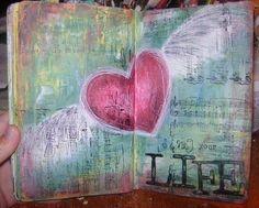 Love these pages by Megan K. Suarez!!