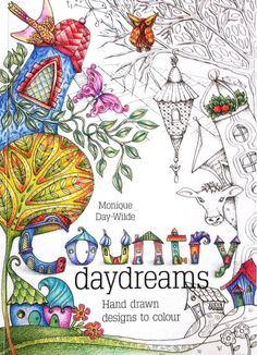 12 Best Colouring Books By Monique Day Wilde Images On Pinterest