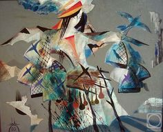 Kagarov MEDAT.  La persona y las aves 03 Russian Art, Art Gallery, Birds, Artist, Artwork, Painting, Art Museum, Work Of Art, Fine Art Gallery