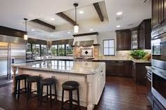 kitchen cabinets different colors - Google Search