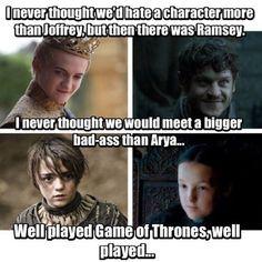 No último domingo, no episódio 6x07 de Game of Thrones, os espectadores…