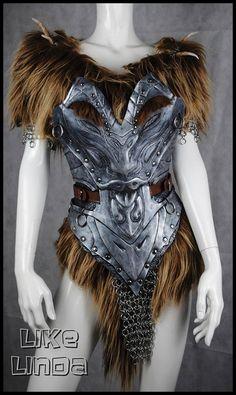 savior's  hide armor (Skyrim) LikeLinda cosplay
