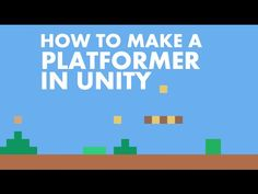 #1 How To Make a Platformer in Unity 5 | Setting Up The Controls - YouTube