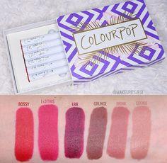 Colourpop Lippie Stix pinterest// chellrosee