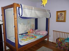 The Courtney Bed. Safe sleep space for children with special needs.