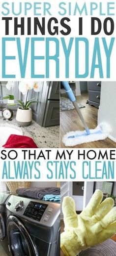 people that clean houses