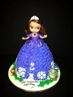 Sofia the First Doll Cake - Cake by Mariela