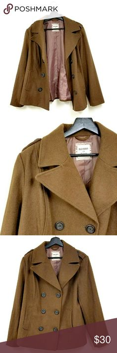 """Old Navy Brown Pea Coat 28"""" long approximately  20.5"""" Bust approximately Old Navy Jackets & Coats Pea Coats"""