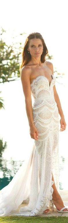 J'Aton Wedding Dress...little bit obsessed