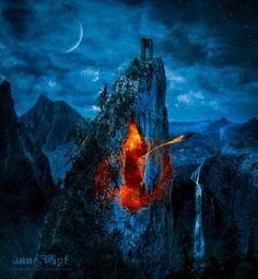 Door to another world by Anne-Wipf on deviantART