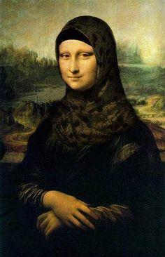 La Gioconda version: Arabe Style