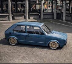 Volkswagen Golf Mk1, Vw Mk1, Golf 2, Exotic Sports Cars, Vintage Cars, Cool Cars, Super Cars, Models, Vehicles