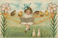 The Daily Postcard: Easter Greetings