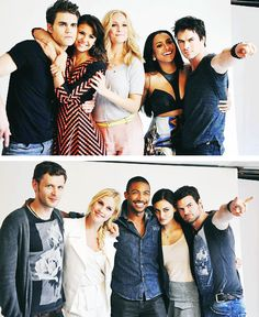 TVD cast & The Originals cast. :)