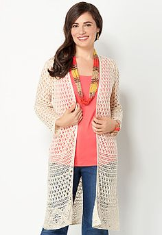 Pointelle Duster, 9-0036190663, Pointelle Duster Main View PGP