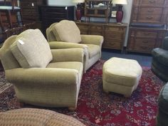 These are in like new condition.  Not gonna last long.  Not Ethan Allen at this price.  Excellent quality at a fraction of the price of new.  Why buy retail when you can buy resale?  <br>  <br>Delivery Available     <br>Major Credit Cards Accepted  <br>  <br>TREASURE HUNT  <br>2300 S. Elmhurst Rd.   <br>Mt. Prospect, IL 60056  <br>  <br>PHONE:  <br>  show contact info  <br>  <br>  <br>EMAIL:  <br>  show contact info  <br>  <br>WEB:  http://www.yourtreasurehunt.com    <br>  <br>  Find Us On…