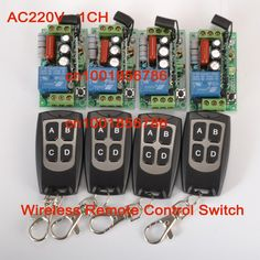 27.19$  Buy now - http://alitmv.shopchina.info/go.php?t=2042675442 - Free shipping AC 220V 1CH 10A wireless remote control switch system Receiver & Transmitter wireless Remote Control Light  switch 27.19$ #magazineonlinewebsite