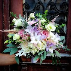 Bride Bouquets, Pastel Colors, Floral Wreath, Wreaths, Home Decor, Bridal Bouquets, Pastel Colours, Floral Crown, Decoration Home