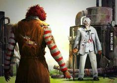 The Ultimate battle. KFC vs McDonald's. Who will win?