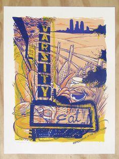 Testprint/Monoprint, One-of-a-Kind by Adam Turman