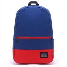 2015 new design oxford patchwork high capacity  women backpack college student school book bag leisure backpack laptop bag(China (Mainland))