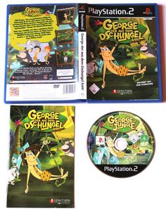George, der aus dem Dschungel kam für Playstation 2,in OVP!