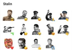 A collection of sticker packs with Stalin. Russian Memes, Telegram Stickers, Packing, Movie Posters, Bag Packaging, Film Poster, Billboard, Film Posters