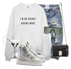 """Untitled #3700"" by xirix ❤ liked on Polyvore featuring Riedel, Puma, Miu Miu and Porsche Design"