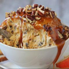 . Pecan-Caramel Cheesecake Dip Recipe from Grandmothers Kitchen.