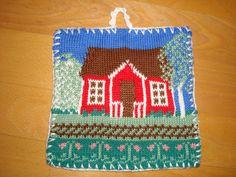 Potholders, Knit Crochet, Knitting, Cute, Tejidos, Needlepoint, Hand Crafts, Pot Holders, Hot Pads