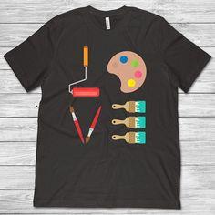 3dRose All Smiles Art T-Shirts Inspiration Cool Fun Wow Woman Outstanding Warrior Rainbow Art