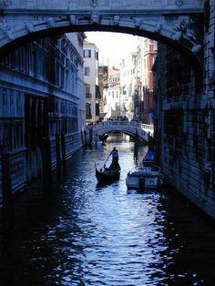 Bridge of Sorrows, Venice 2000