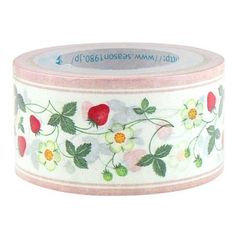 Strawberry Flower Deco Tape, $8