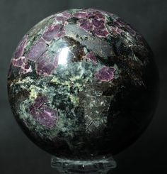 Eudialyte Sphere # 1043. Available @ www.RocknSpheres.com