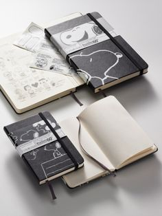 peanuts moleskine! I MUST FIND THIS!!!