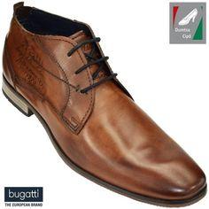 Bugatti férfi bőr bokacipő 311-15104-2500-6300 konyak