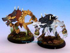 Warpwolves, Privateer Press, Hordes, Circle of Orboros, John Salmond 'Scarab7664' Tabletop gaming, tabletop miniatures